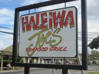 Vegan Restaurant Reviews: Haleiwa Joe's, Haleiwa, Oahu, Hawaii