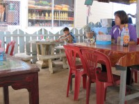 Sounds at a Food Stall, Mae La Noi, Thailand