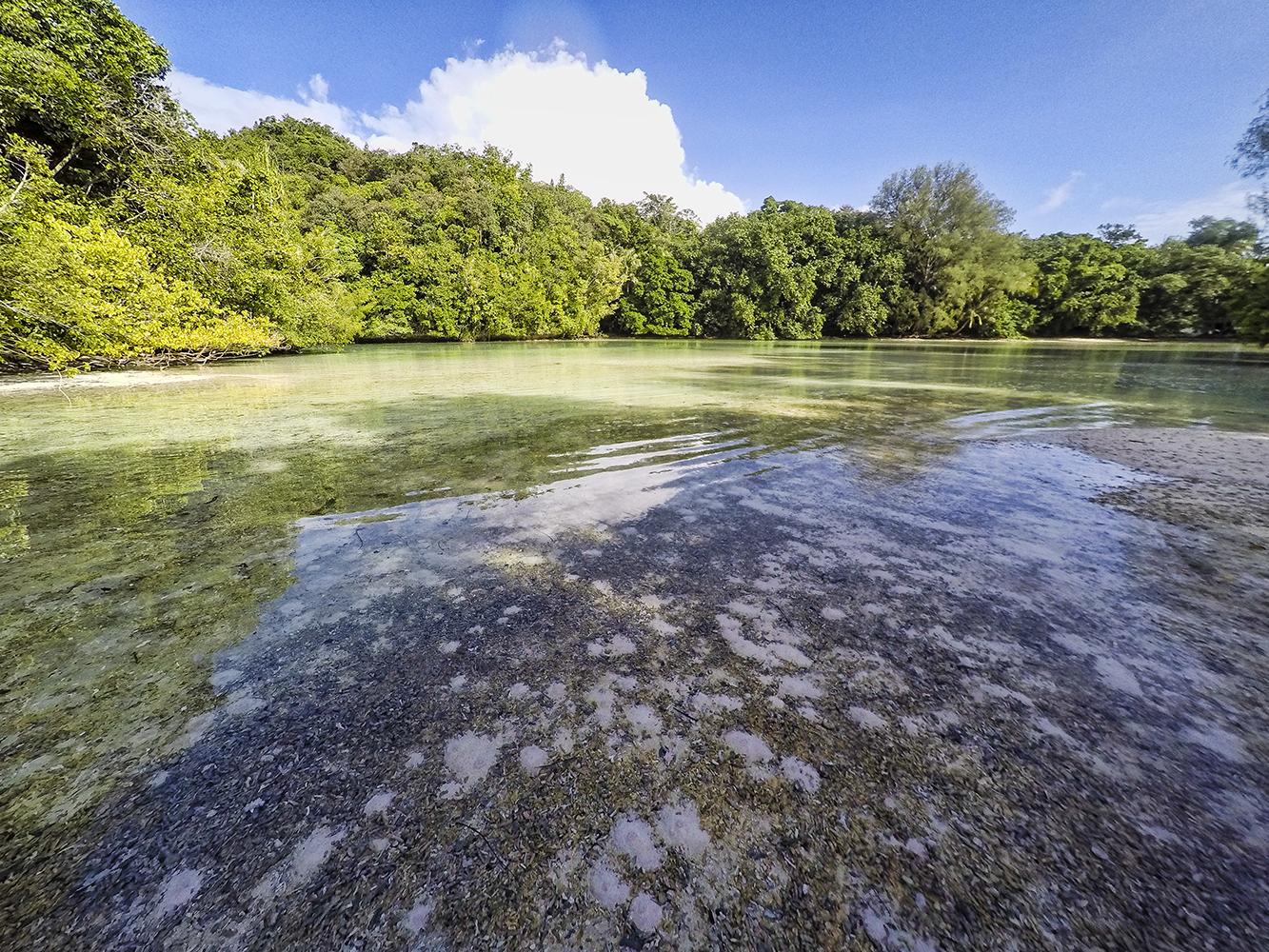 Camping In Palau Rock Islands