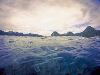 Palau Water Srface
