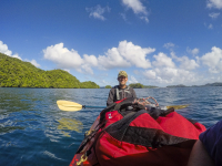Time-lapsed Video of Paddling from Ngchus to Klo Toi Beach
