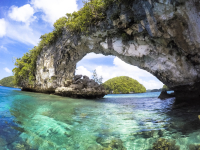 Video of Paddling Through Tunnels in Palau's Rock Islands